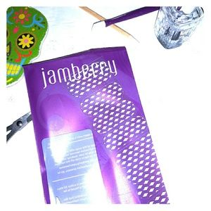 Jamberry nail wraps Delight clear